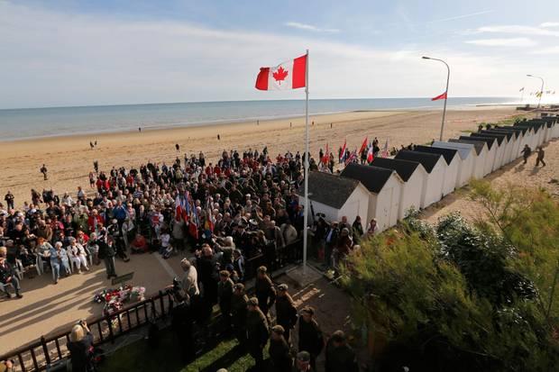 D Day Gedenken In Der Normandie S 15 Galade
