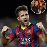 """Cesc Fàbregas, 27, Spanien  Er sieht aus wie der spanische Elyas M'Barek: definierter Body, strahlend weiße Zähne und ein Lachen, das nicht nur seine Frau Daniella Semaan dahinschmelzen lässt. Die Libanesin ist für den Kicker des FC Barcelona die ganz große Liebe. Fast täglich verewigt Cesc Fàbregas Fotos von ihr auf seinem Instagram-Profil. Jüngster Liebesbeweis ist ein neues Tattoo auf seinem rechten Unterarm: ein Stern, in dessen Mitte ein """"D"""" prangt."""