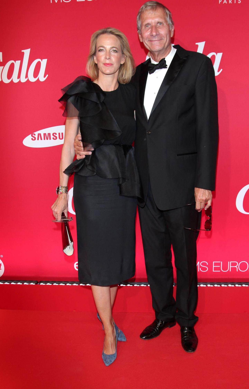 Julia Jäkel und Ulrich Wickert