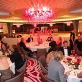 Die Stars sitzen im Resaturant und warten auf ihr Gala-Dinner.