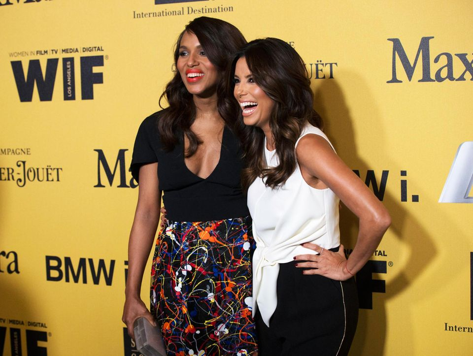 Kerry Washington und Eva Longoria