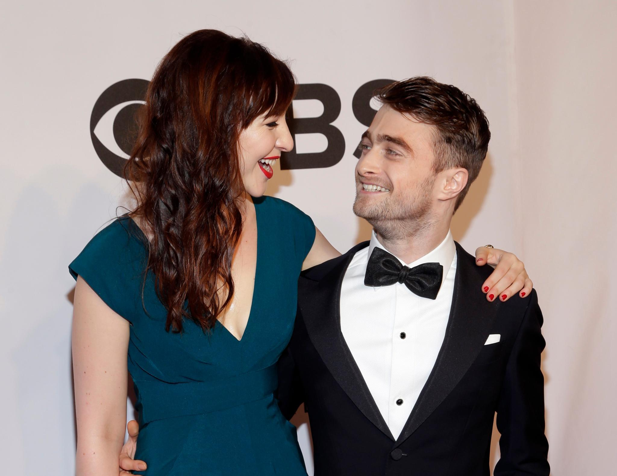 Daniel Radcliffe hat seine Freundin Erin Darke mitgebracht.
