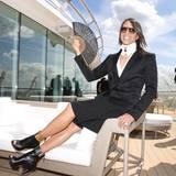 Ebenfalls an Bord - und stylisch wie immer: Jorge Gonzalez.