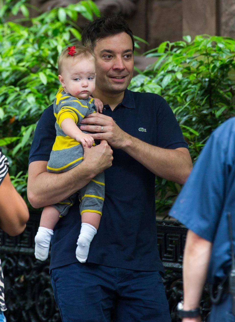 Jimmy Fallon hat für seine kleine Tochter Winnie Rose das ganze Wochenende reserviert.