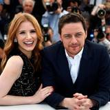 "Jessica Chastain und James McAvoy stellen ihren Film ""The Disappearance Of Eleanor Rigby"" vor."