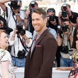 """Mireille Enos, Ryan Reynolds und Rosario Dawson posieren beim Photocall für den Film """"Captives""""."""