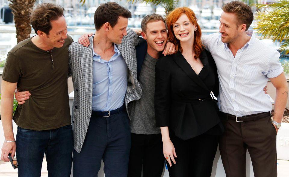 """Ryan Gosling präsentiert in Cannes seinen Debütfilm als Regisseur. Die Hauptrollen in """"Lost River"""" spielen Reda Kateb, Matt Smith, Iain De Caestecker und Christina Hendricks."""