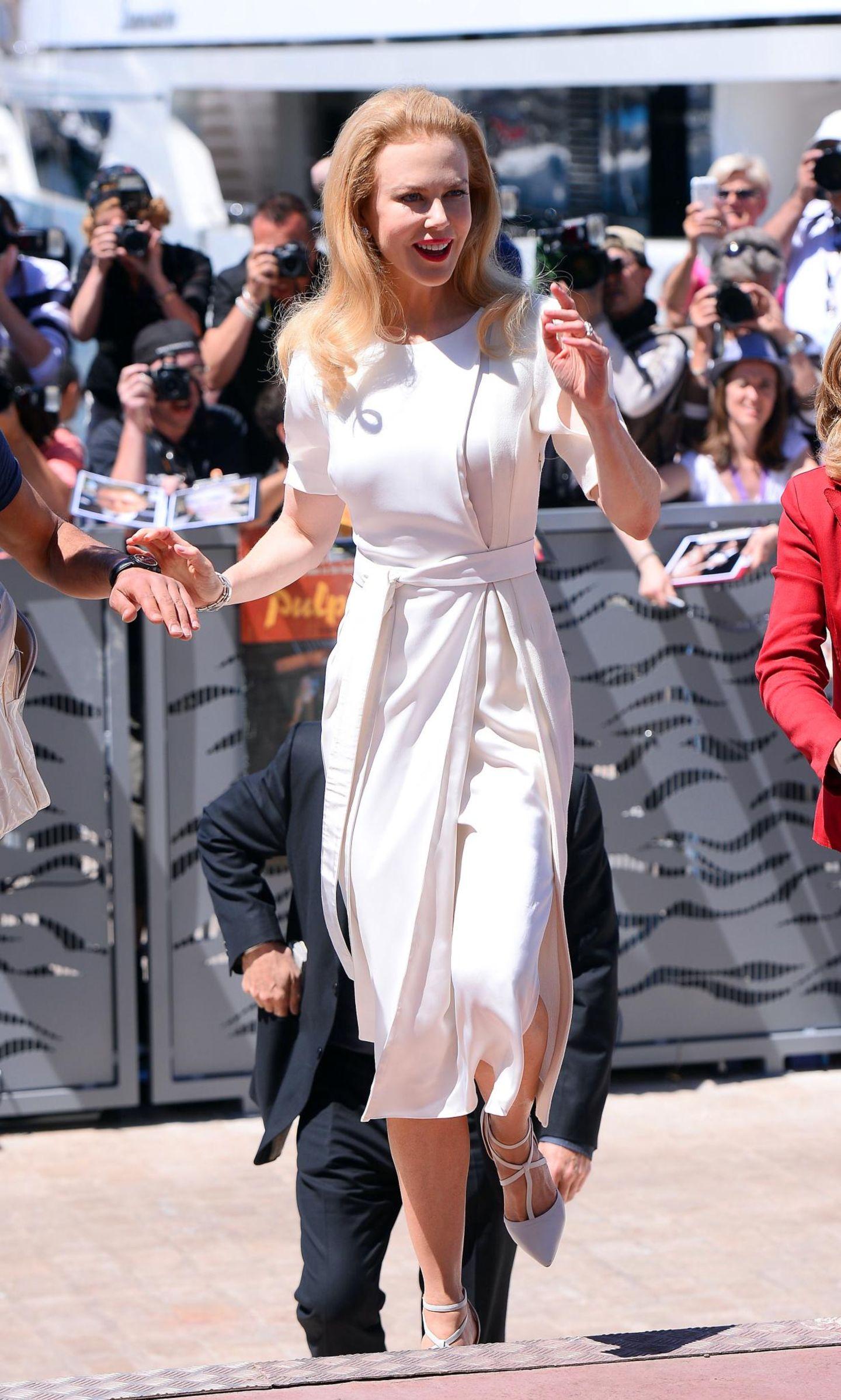 """Nicole Kidman ist schon da. Ihr Film """"Grace of Monaco"""" eröffnet die diesjährigen Filmfestspiele."""