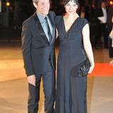 """Willem Dafoe und seine Ehefrau Giada Colagrande, die ebenfalls Schauspielerin ist, kommen zur Afterparty der """"Grace of Monaco""""-Premiere."""