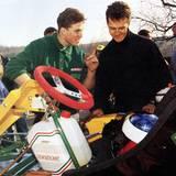 Januar 1992  Bevor Michael Schumacher 1987 erstmals in der Formel König startet, verbringt er gemeinsam mit seinem jüngeren Bruder Ralf Schumacher viel Zeit auf der Kartbahn.