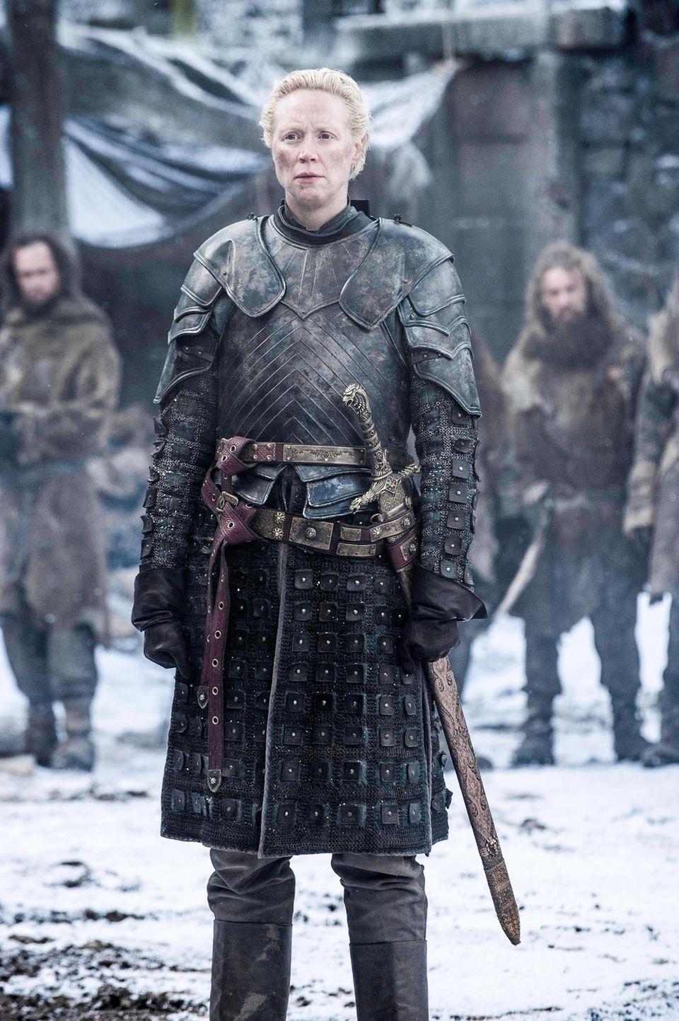 """Gwendoline Christie als """"Brienne of Tarth"""""""