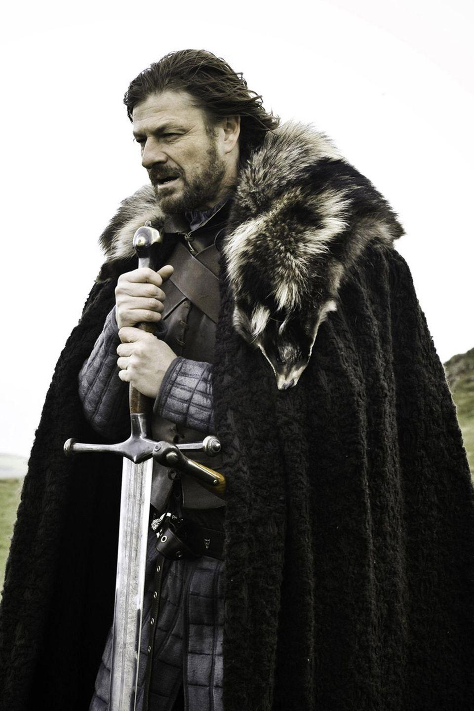 "Sean Bean als ""Eddard 'Ned'Stark"""