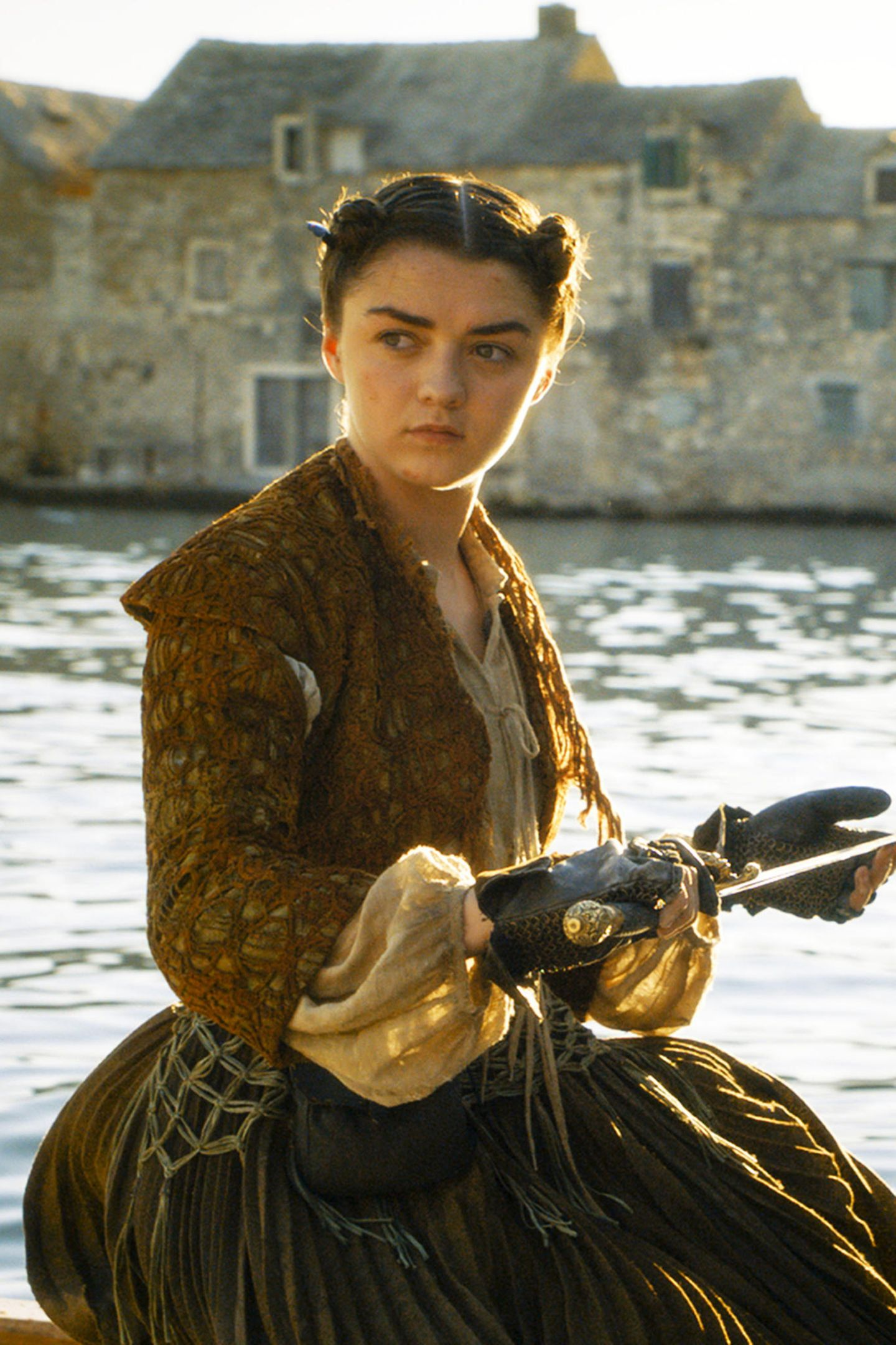 "Maisie Williams als ""Arya Stark"""