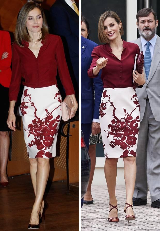 Königin Letizia Ihre Schönsten Kleider In Bildern S 210 Galade