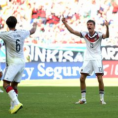 Thomas Müller hat bereits nach dem ersten Spiel der deutschen Mannschaft beste Chancen Torschützenkönig der WM zu werden.