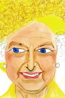 Maria Theresia von Thurn und Taxis + Hugo Wilson: Queen Elizabeth Weitere Informationen und Arbeiten finden Sie unter www.gloriasportrait.com