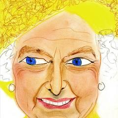 Gloria von Thurn und Taxis: Queen Elizabeth Weitere Informationen und Arbeiten finden Sie unter www.gloriasportrait.com