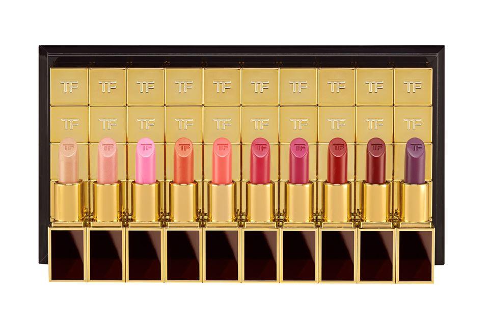 """Für jeden Geschmack etwas dabei: """"Lips & Boys""""-Kollektion von Tom Ford , je ca. 31 Euro"""