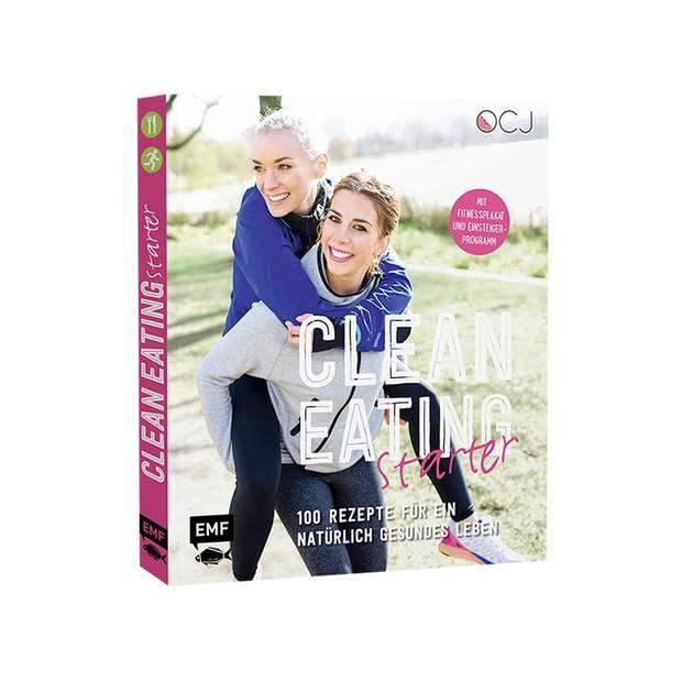 """Gesund ist Trend: Die beiden Fitness- und Lifestyle-Bloggerinnen Julia Fodor und Luisa Eckhard beweisen mit ihrem Kochbuch """"Clean Eating Starter"""", wie einfach und lecker eine gesunde Ernährung ohne industriell verarbeitete Produkte sein kann. Erschienen im EMF Verlag, ca. 25 Euro"""