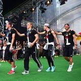 Merte, Klose und Lahm: Die WM hat das Team noch mehr zusammengeschweißt.