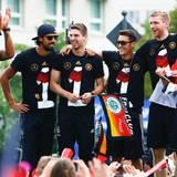 Merte, Klose und Lahm: So wurden unsere WM-Helden verabschiedet