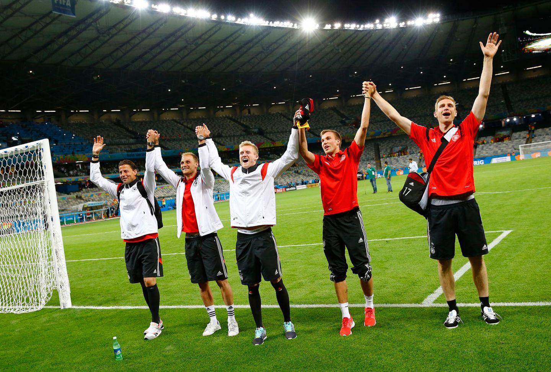 Das deutsche Team bedankt sich bei den Fans für die unglaubliche Unterstützung.