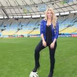 Shakira freut sich schon auf ihre Performance am Finaltag.