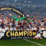 Merte, Klose und Lahm: Die deutsche Nationalmannschaft wird Weltmeister 2014.