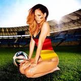 Ihr neues Twitter-Profilfoto beweist: Rihanna ist ein echter Deutschland-Fan.