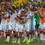 Freude beim deutschen Team