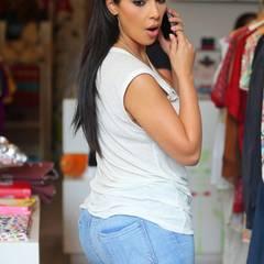 Kim Kardashians herausstechendstes Merkmal ist mit Sicherheit ihre voluminöse Rückseite.