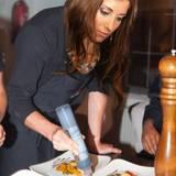 Als Köchin dürfte Cathy Fischer jedes Gericht mit Balsamico-Creme verzieren.