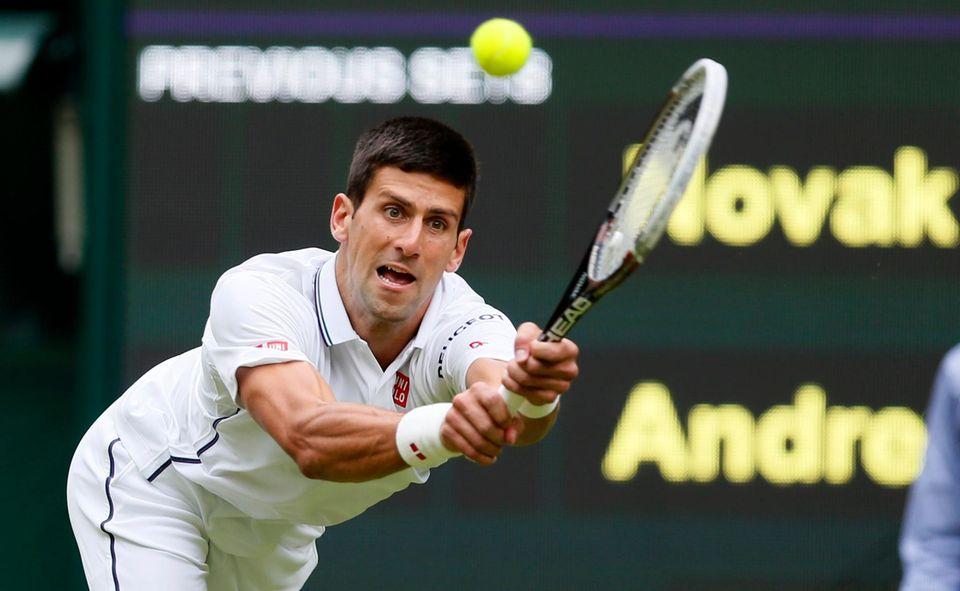 Novak Djokovic ist als Weltranglistenzweiter einer der Favoriten des Turniers.