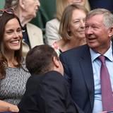"""Der ehemalige """"Manchester United""""-Manager Alex Ferguson"""