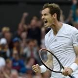 Andy Murray lässt seinen Gefühlen nach dem Sieg gegen den Südafrikaner Kevin Anderson freien Lauf.