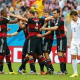 Mit dem 1:0-Sieg zieht das deutsche Team ins Achtelfinale ein und spielt am Montag, 30. Juni, gegen Algerien.