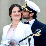 30. April 2016  Verliebt wie am ersten Tag zeigen sich Prinz Carl Philip und seine Sofia.