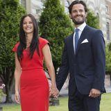 27. Juni 2014  Auch das schwedische Königspaar Carl Gustaf und Silvia zeigt sich begeistert von der Verlobung.