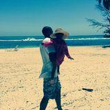Juli 2014  Beyoncé, Jay-Z und Blue-Ivy machen Urlaub am Meer.