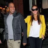 20. Februar 2012: Jay-Z und Beyoncé zeigen sich zum ersten Mal nach der Geburt von Blue Ivy zusammen in der Öffentlichkeit. Die