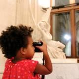 Oktober 2014  Dort wird die kleine Blue Ivy zur großen Fotografin.