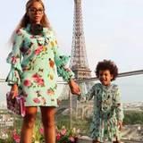 29. Juli 2016   Partnerlook mit Beyoncé: Töchterchen Blue Ivy verbringt ein paar Tage mit Mama und Papa in der Stadt der Liebenden. Auf dem Tagesprogramm steht der Eiffelturm.