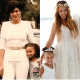 10. Mai 2015  Wie sich die Zeiten ändern - Beyonce postet ein Foto von damals mit ihrer Mutter und ein Foto auf dem sie nun eine Mutter ist.