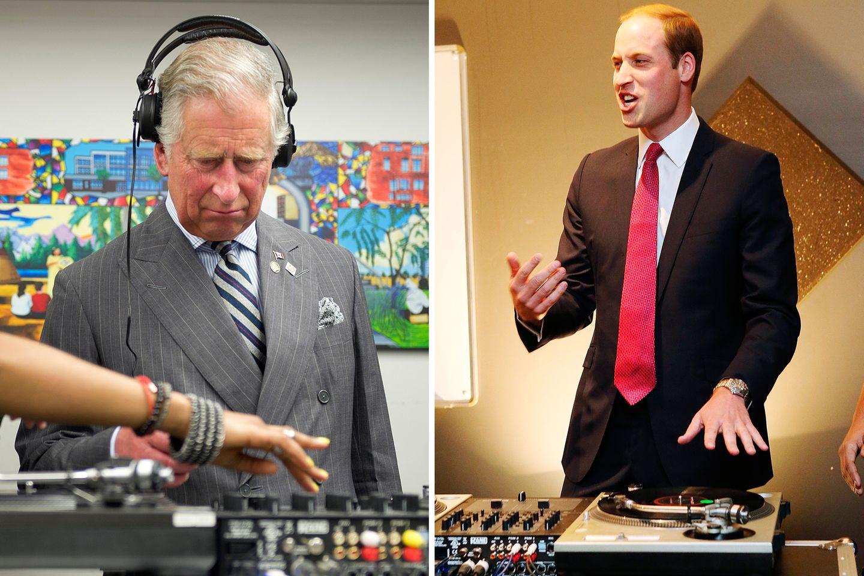Während Charles noch seine Zweifel zu haben scheint, legt der Sohnemann an den Turntables gleich los.