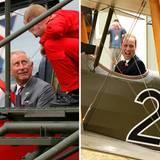 Wie die Luftfahrtpioniere: William und Charles setzen sich gerne in den einen oder anderen Segelflieger.