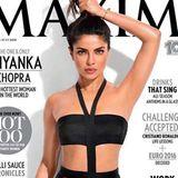 """Als Bollywood-Star Priyanka Chopra ihr Cover der indischen Ausgabe des Männermagazins """"Maxim"""" aus Instagram und Twitter postete, kam sofort eine heftige Diskussion über die offensichtlich wegretuschierte Achselhöhle in Gang. Da die Schauspielerin ohnehin schon makellos schön ist, wirkt sie mit diesem Photoshop-Fail auf dem Titelbild eher wie eine Wachsfigur."""