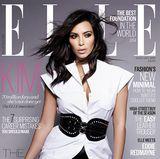 Für die britische Elle wird Kim Kardashian gleich mit drei verschiedenen Covern veröffentlicht. Sie sieht bezaubernd aus, aber irgendwie wirken ihre Oberschenkel verdächtig dünn. Wurde da etwa nachgeholfen?