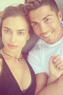 Nach dem frühen Ausscheiden bei der WM mit Portugal verbringt Cristinao Ronaldo seinen Urlaub mit Freundin Irina Shayk.