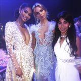 Liliana mit Chanel Iman und Amber Farr
