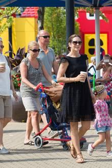 Dänemarks Kronprinzessin zeigt sich ganz entspannt.